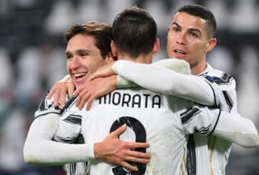 Com gol de CR7, Juventus vence Dínamo de Kiev pela Liga dos Campeões   Vincenzo Pinto   AFP