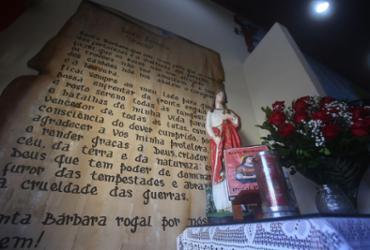 Festa de Santa Bárbara tem formato diferente na pandemia | Felipe Iruatã | Ag. A TARDE