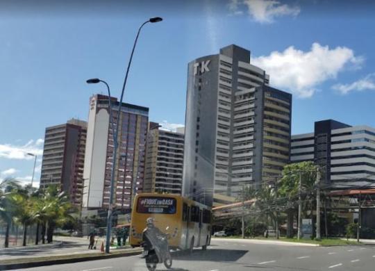 Ônibus que passam pela Av. Tancredo Neves terão itinerário modificado; Confira | Reprodução | Google Maps