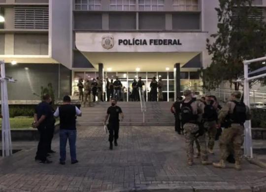 Operação da PF cumpre mandados em Salvador, São Paulo e no estado do Ceará   Divulgação   PF