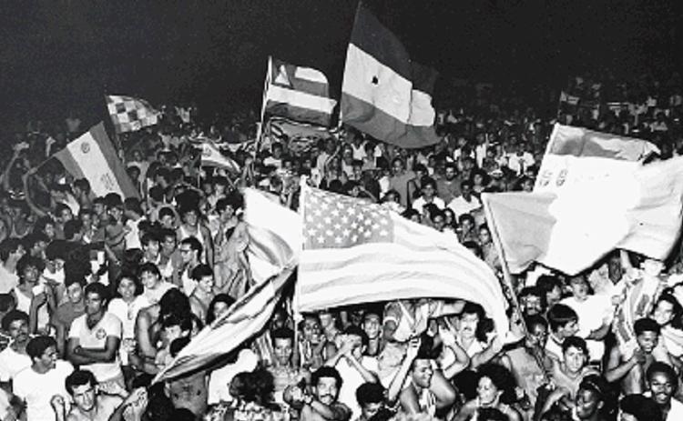 Torcida comemora conquista de 1988 | Arlindo Felix | Arquivo A TARDE