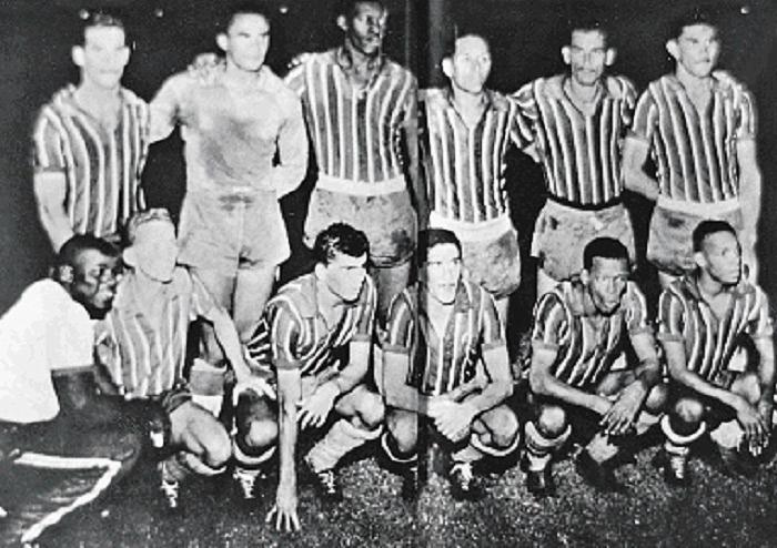 Foto da equipe campeã em 1959 | Arquivo A TARDE