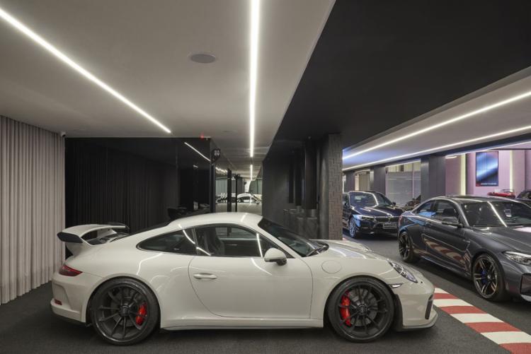 McLaren, Ferrari, Lamborghini e Maserati, marcas da vitrine