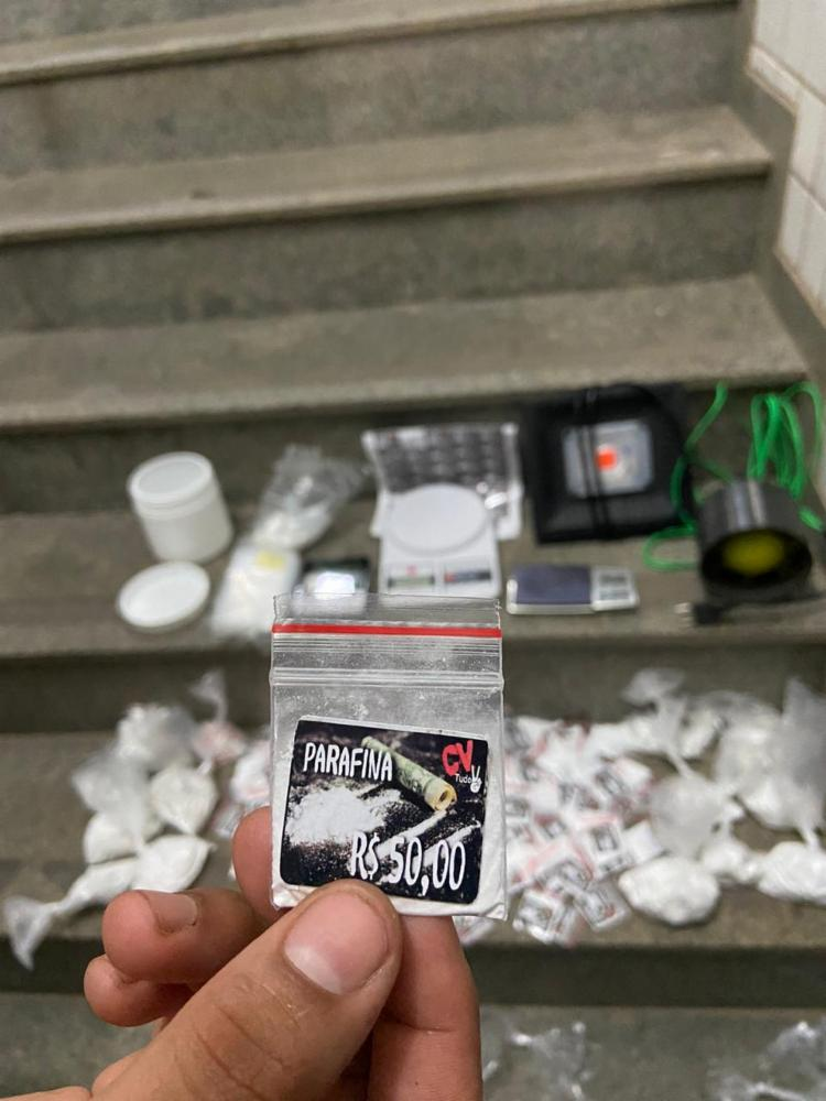 Drogas foram apreendidas durante ação nesta quinta | Foto: Divulgação | SSP - Foto: Divulgação | SSP