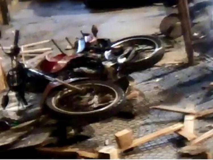 Acidente aconteceu na madrugada deste sábado | Foto: Reprodução - Foto: Reprodução | TV Bahia