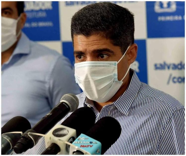 Prefeito ACM Neto vai falar das medidas contra o coronavírus I Foto: Reprodução - Foto: Reprodução