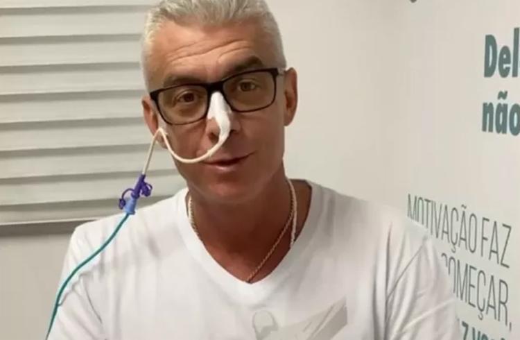 Médicos que o atendem informaram que o câncer não deixou vestígios | Foto: Reprodução | Redes Sociais - Foto: Reprodução | Redes Sociais