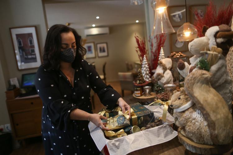 Anna Patrícia está otimista com as vendas da Tortarelli | Foto: Raphael Muller | Ag. A TARDE - Foto: Raphael Muller | Ag. A TARDE