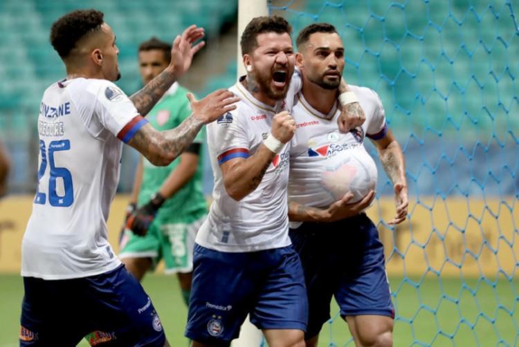 Tricolor inicia disputa válida pelas quartas em casa | Foto: Felipe Oliveira | EC Bahia - Foto: Felipe Oliveira | EC Bahia