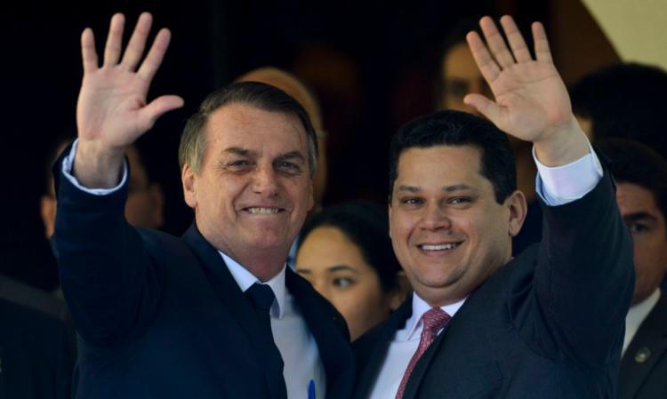 Bolsonaro prometeu a Alcolumbre o ministério que ele quiser em 2021 - Foto: Agencia Brasil | Divulgação