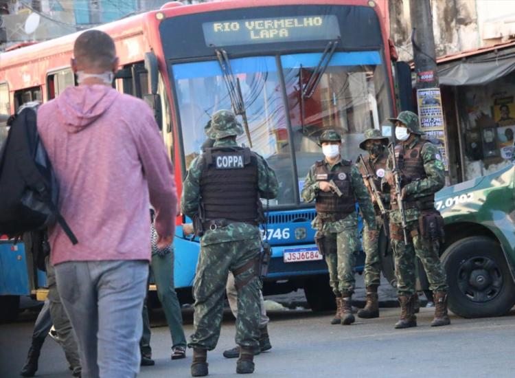 Equipes faziam incursões na localidade quando avistaram grupo armado | Foto: Divulgação | SSP - Foto: Divulgação | SSP