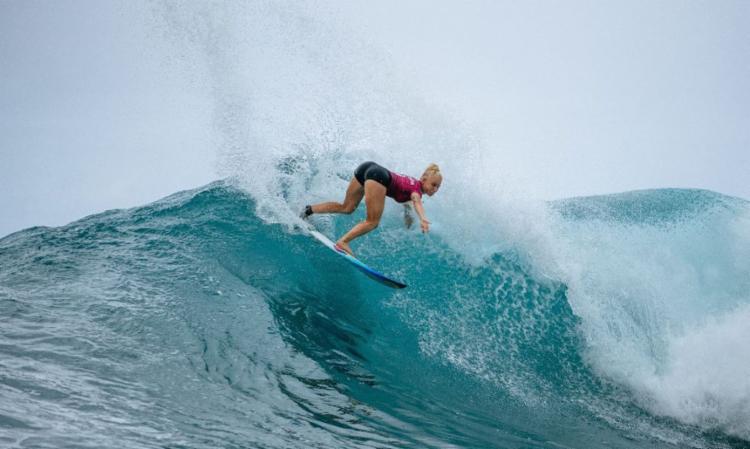 Brasileira está nas oitavas de final do Maui Pro   Foto: Ed Sloane   WSL - Foto: Ed Sloane   WSL