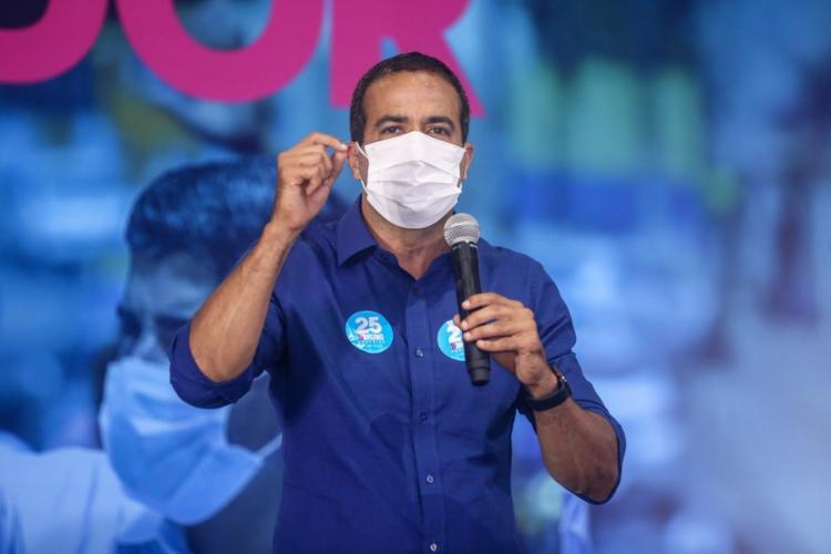 Prefeito eleito de Salvador, Bruno Reis está curado da Covid - Foto: Divulgação