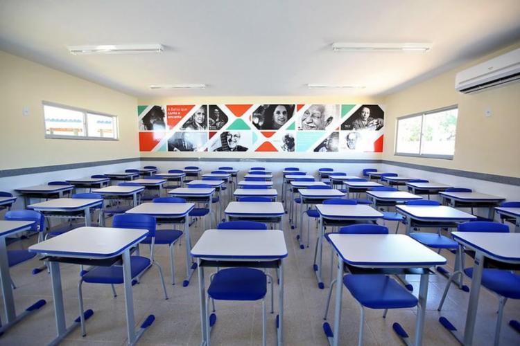 MP pediu relação das escolas que já estejam fisicamente ajustadas para eventual retorno | Foto: Paula Fróes | GOVBA - Foto: Paula Fróes | GOVBA