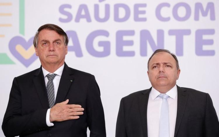 Marcelo Pimentel e Péricles da Cunha avaliam mal a atuação do presidente e do ministro da Saúde durante a pandemia | Foto: Alan Santos | PR - Foto: Alan Santos | PR