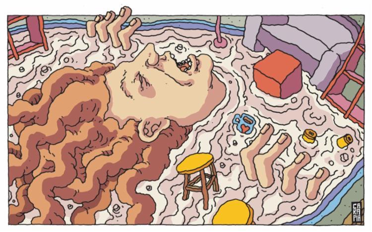 Crônica saiu na edição do caderno Muito deste domingo, 13   Arte: Tulio Carapiá - Foto: Tulio Carapiá