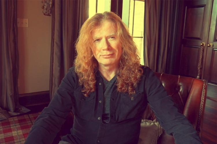 Dave Mustaine, vocalista da banda de metal Megadeth I Foto: Divulgação - Foto: Divulgação