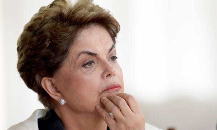 Ex-presidente da República foi conduzida para hospital após suspeita de AVC - Foto: Evaristo Sá | AFP