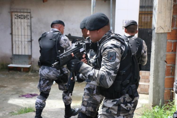 Desde o início das operações nas localidades, cinco traficantes foram presos e outros cinco morreram em confrontos   Foto: Divulgação   SSP-BA - Foto: Divulgação   SSP-BA