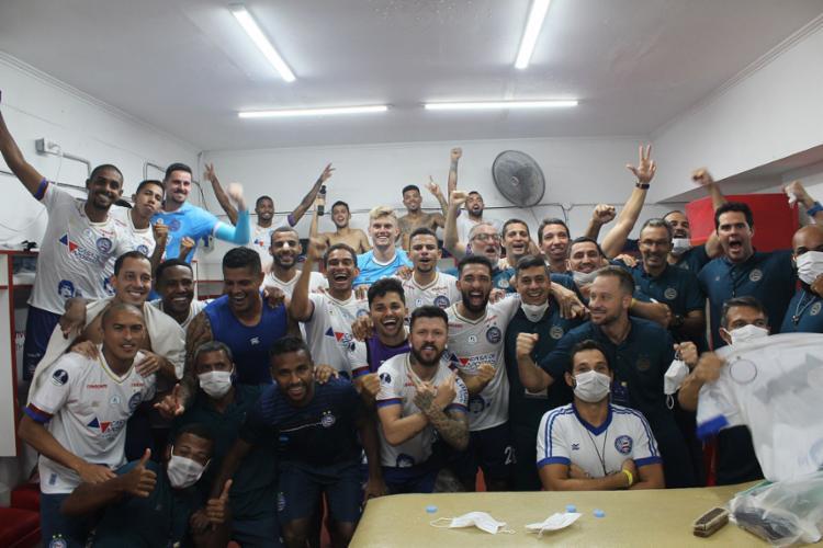 Com a classificação às quartas, o Tricolor arrecadou R$ 3,1 milhões | Foto: Bruno Queiroz | EC Bahia - Foto: Bruno Queiroz | EC Bahia