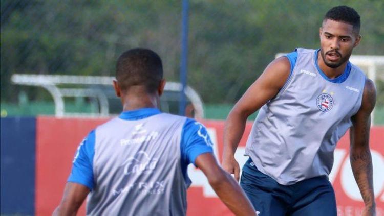 Dado Cavalcanti pôde contar com os atletas Patrick de Paula, Luiz Felipe e Thiago   Foto: Felipe Oliveira   EC Bahia - Foto: Felipe Oliveira   EC Bahia