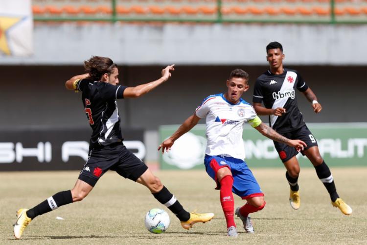 Com o resultado, o Vasco joga apenas pelo empate no duelo de volta em São Januário | Foto: Felipe Oliveira | EC Bahia - Foto: Felipe Oliveira | EC Bahia