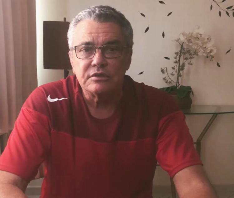 Paulo Carneiro ainda comentou sobre a punição do clube em seis meses sem poder contratar   Foto: Reprodução   TV Vitória - Foto: Reprodução   TV Vitória