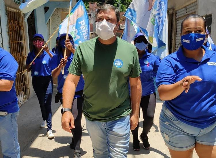 Emerson Penalva foi eleito em Salvador com 9.129 votos   Foto: Reprodução   Instagram - Foto: Reprodução   Instagram