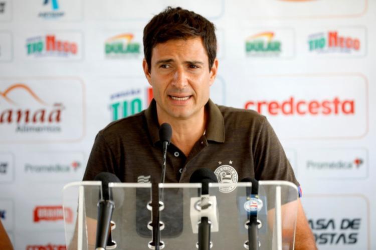 Cerri estava no tricolor desde 2016 e não vai ter o contrato renovado na equipe | Foto: Felipe Oliveira | EC Bahia | Divulgação - Foto: Felipe Oliveira | EC Bahia | Divulgação
