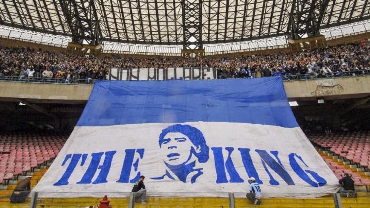O craque argentino atuou pelo clube italiano entre os anos de 1984 e 1991   Foto: Mário Laporta   AFP - Foto: Mário Laporta   AFP