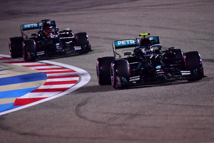 Finlandês conquistou sua quinta pole position da temporada de F1 | Foto: Giuseppe Cacace | Pool | AFP - Foto: Giuseppe Cacace | Pool | AFP