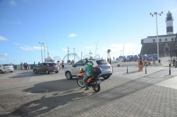 Prefeitura de Salvador montou esquema especial para conter aglomerações | Foto: Alex Oliveira | Ag. A TARDE - Foto: Alex Oliveira | Ag. A TARDE