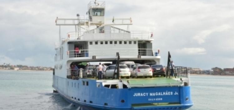 Ferry-Boat tem fluxo moderado para veículos | Foto: Divulgação | Internacional Travessias - Foto: Divulgação | Internacional Travessias