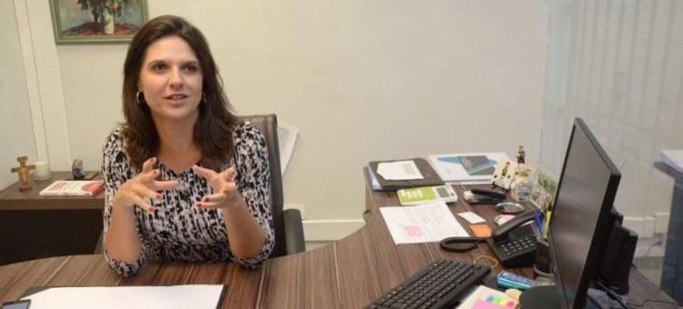 Giovanna Victer assumiu a cadeira na Sefaz e elogiou gestão fiscal de Salvador: 'Modelo para todo Brasil' - Foto: Divulgação