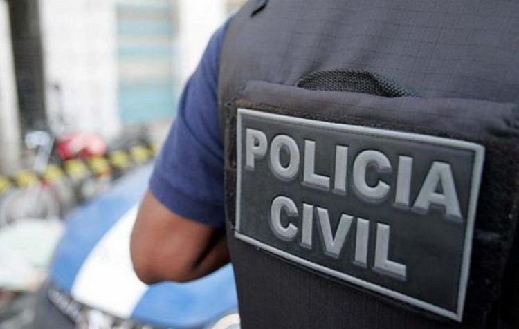 O homem passou por exames de lesões corporais e seguirá para uma unidade do sistema prisional | Foto: Divulgação | Polícia Civil - Foto: Divulgação | Polícia Civil