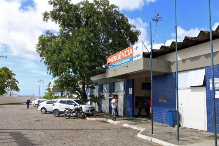 No Hospital Eládio Lasserre, em Salvador, há ocupação máxima dos leitos clínicos e de UTI para pacientes com Covid-19 | Foto: Divulgação | Sesab - Foto: Divulgação | Sesab