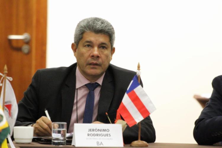 Secretário da Educação do Estado da Bahia   Foto: Divulgação - Foto: Divulgação