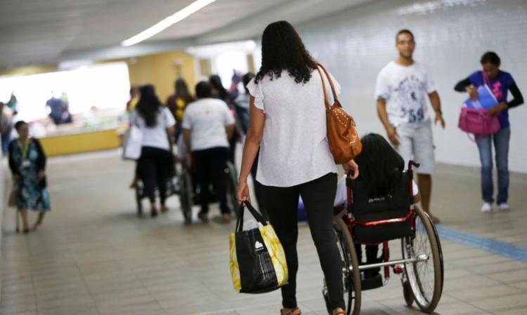 Ação marca o Dia Internacional da Pessoa com Deficiência   Foto: Marcelo Camargo   Agência Brasil - Foto: Marcelo Camargo   Agência Brasil