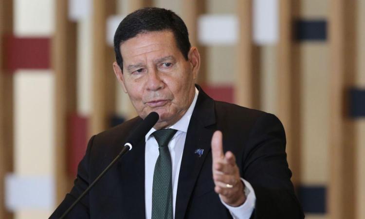De acordo com Mourão, o maior adversário do governo é João Doria - Foto: Fabio Rodrigues Pozzebom   Agência Brasil