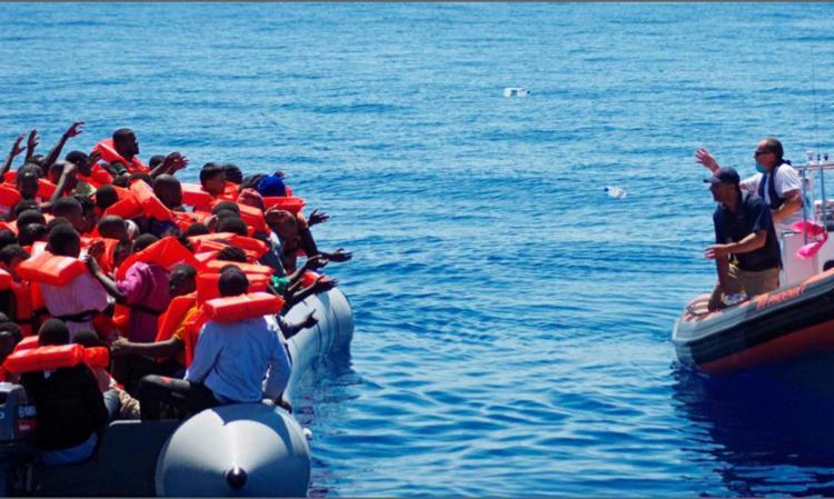 Eles foram resgatados no Canal da Mancha, em embarcações precárias | Foto: Agência Brasil - Foto: Agência Brasil