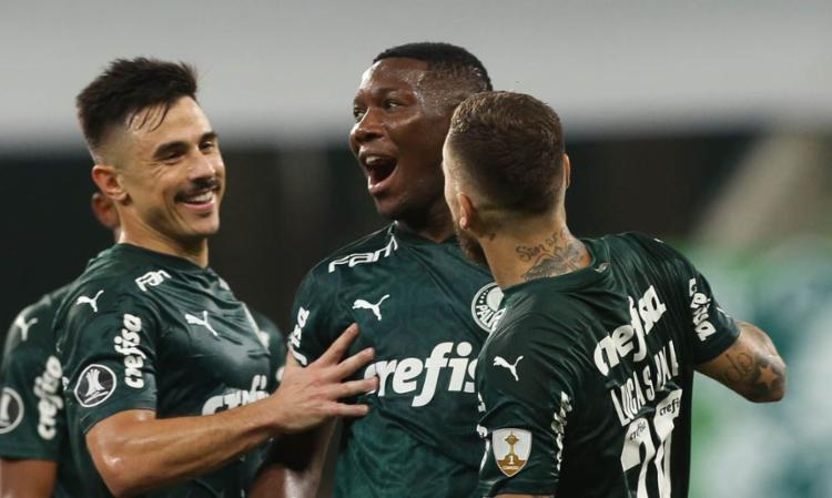 Time brasileiro venceu por 5 a 0 em casa   Foto: Cesar Greco   Palmeiras - Foto: Cesar Greco   Palmeiras