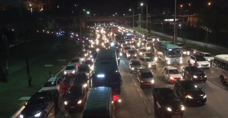 56% dos entrevistados acreditam que o uso de veículos particulares piora a mobilidade urbana I Foto: Divulgação - Foto: Foto: Divulgação