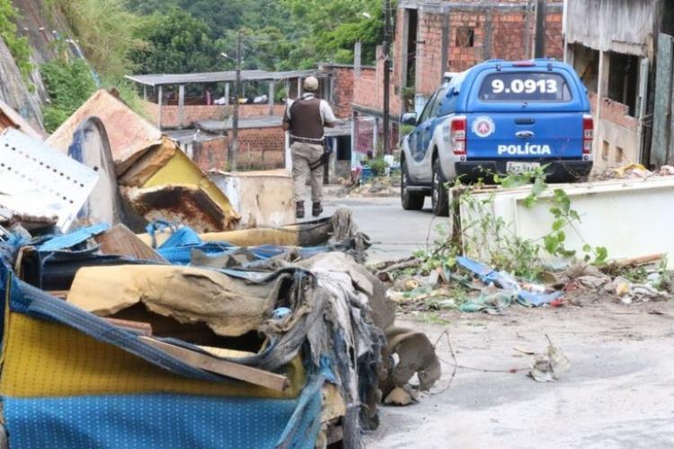 As retiradas são realizadas com apoio de máquinas da Conder | Foto: Divulgação | Alberto Maraux - Foto: Divulgação | Alberto Maraux