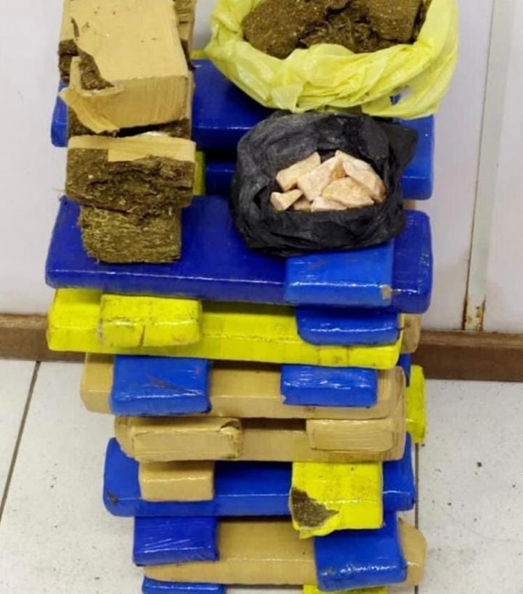 Material foi encontrado em casa no bairro de São Cristóvão | Foto: Divulgação | SSP - Foto: Divulgação | SSP