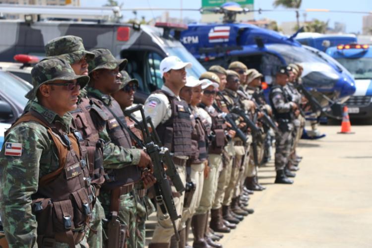 Em Salvador, bairros da orla marítima contarão com patrulhamento reforçado   Foto: Divulgação   SSP - Foto: Divulgação   SSP