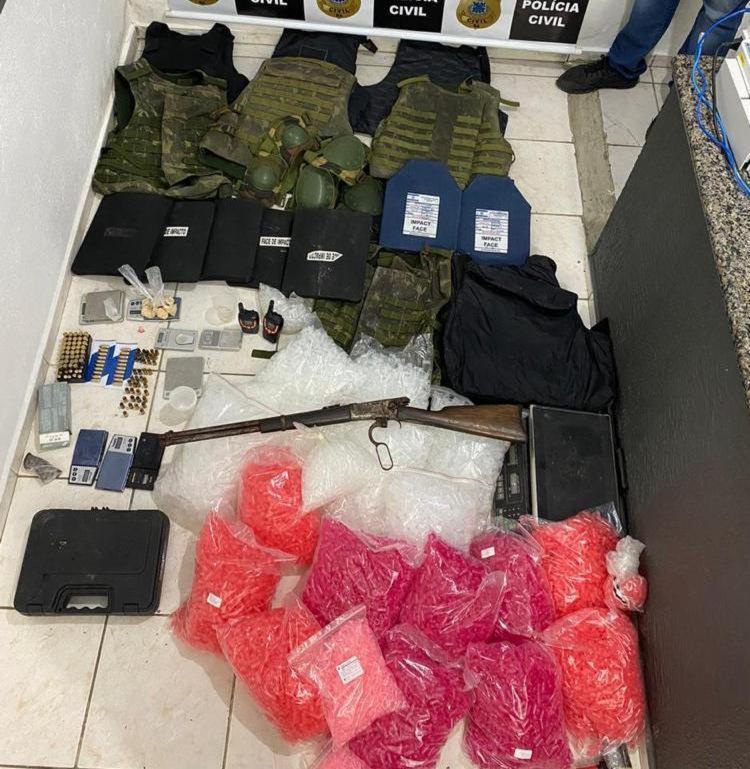Prisão aconteceu em uma operação deflagrada pela Delegacia Territorial de Arraial D'Ajuda | Foto: Divulgação | Polícia Civil - Foto: Divulgação | Polícia Civil
