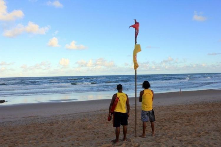 Segundo a Salvamar, Piatã, Jaguaribe, Jardim de Alah, Stella Maris e Flamengo são as praias que registram mais ocorrências de afogamento | Foto: Divulgação | Secom - Foto: Divulgação | Secom