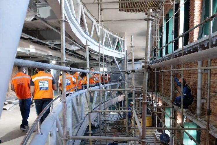 Futura sede do Museu do Mar está sendo finalizada | Foto: Divulgação | Codesal - Foto: Divulgação