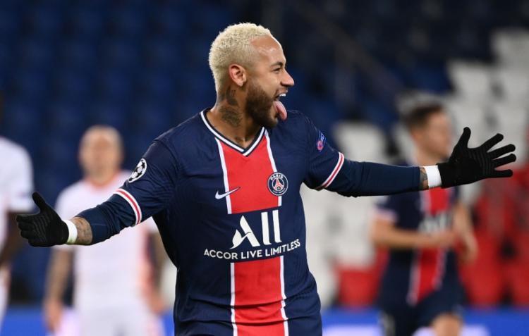 O camisa 10 marcou duas vezes e decidiu o confronto para o time parisiense | Foto: Franck Fife | AFP - Foto: Franck Fife | AFP
