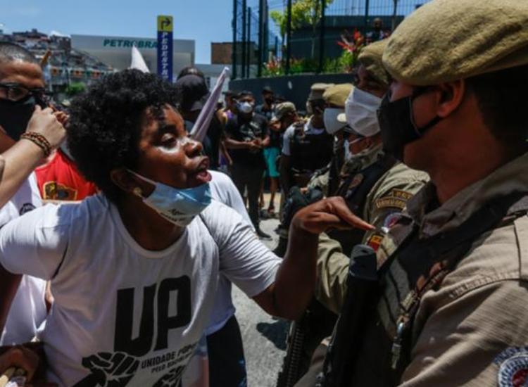 Bahia apresenta o maior percentual de negros mortos pela polícia | Foto: Rafael Martins | Ag. A TARDE - Foto: Rafael Martins | Ag. A TARDE